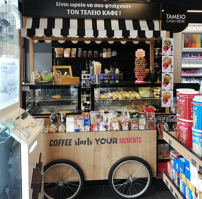 Kioskys Franchise - Καφές και σνακ